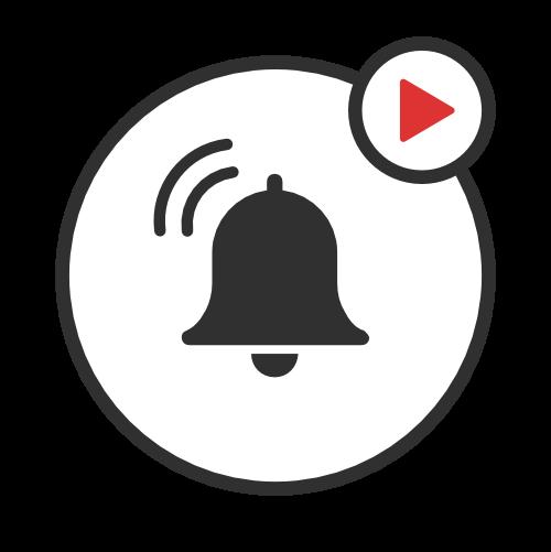 Simbolo di campanella di avviso
