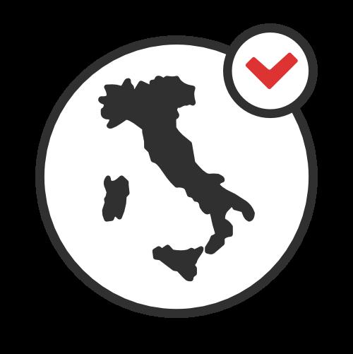 Simbolo della penisola italiana