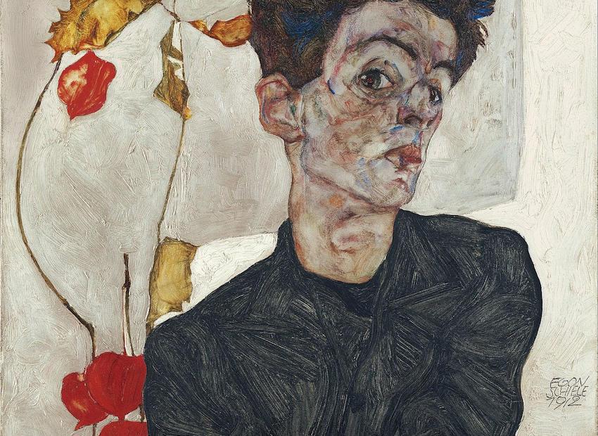 Egon Schiele - Autoritratto