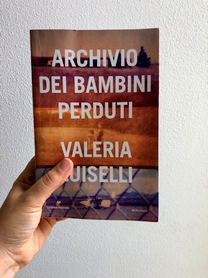 Copertina de: Archivio dei bambini perduti di Luiselli