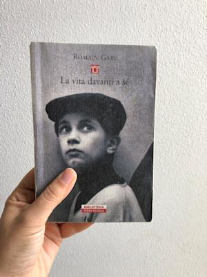 Copertina del libro di Romain Gary