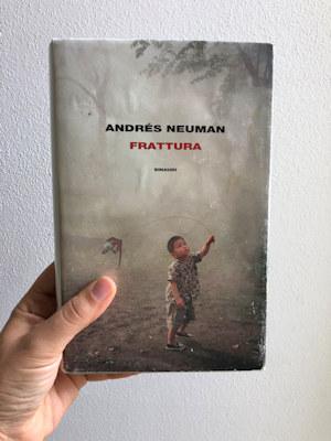 Copertina del libro: Frattura di Andrés Neuman