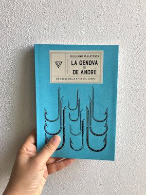 Copertina libro: A Genova con De André