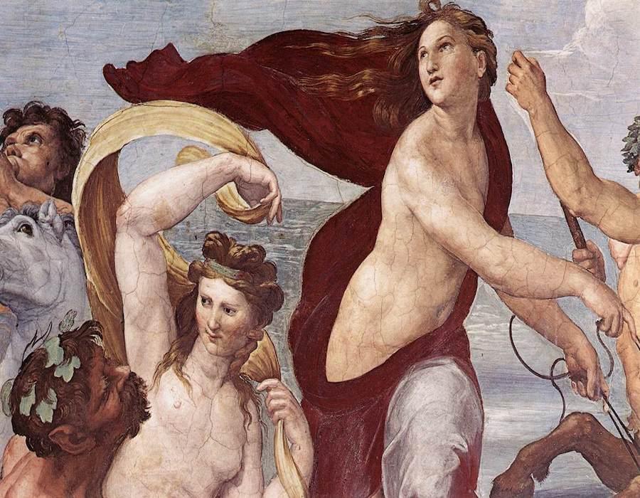 Raffaello, dettaglio Farnesina